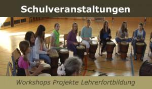 Schulveranstaltungen - Workshops-Kurse-Seminare