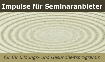 Impulse für Seminaranbieter - Workshops-Kurse-Seminare bei www.klang-bild.co.at