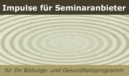 Impulse für Seminaranbieter - Workshops-Kurse-Seminare bei www.klang-bild.co.at