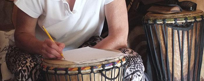Trommelkurs für Fortgeschrittene, Djembekurs Afrika mit Rhythmen der Malinke bei www.klang-bild.co.at