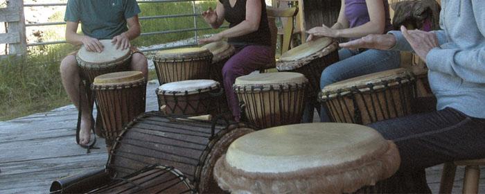 Trommelkurs Afrika, Trommeln lernen in den Alpen bei www.klang-bild.co.at