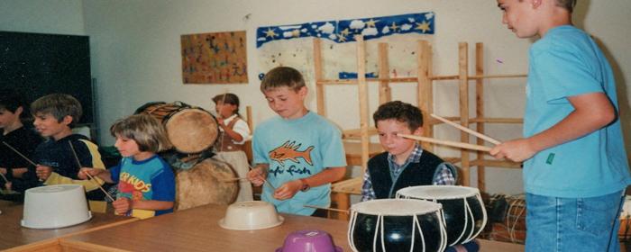 """Lehrerfortbildung """"Freude Fun und Ausdauer durch Trommelpower"""" Rhythmus - und Trommelunterricht von www.klang-bild.co.at"""