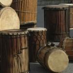 """Djembe Workshop, Trommelkurs """"Afrika"""" Basstrommelgruppe"""