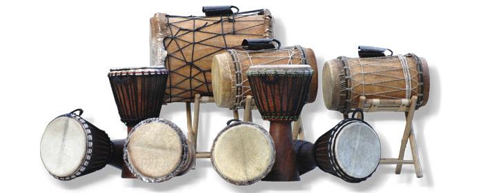 """Trommelkurs """"Afrika"""" Djembe, Dundunba, Sangban, Kenkeni"""