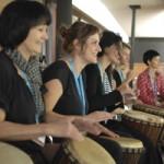 Erlebnisworkshop Trommeln, afrikanisches Trommeln, Djembeworkshop bei www.klang-bild.co.at