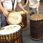 Teambildung mit Trommeln, Trommelerlebnis - Workshop, Basstrommelworkshop bei www.klang-bild.ao.at
