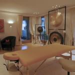 klangmassage Ausbildung - Behandlungsraum