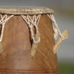 Atsimevu, Solotrommel der Ewe beim Trommelkurs Afrika bei www.klang-bild.co.at