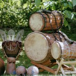 Djembekurs, afrikanisches Trommeln, Djembeworkshop, Trommel - Erlebnistag bei www.klang-bild.co.at
