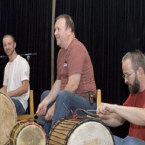 Djembe Workshop, Trommelkurs