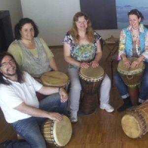 Trommelworkshop, Djembekurs bei www.klang-bild.co.at